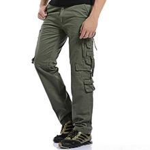 2018 New Fashion casual cotton military sweatpants sweat Man Joggers camouflage camo cargo Pants men plus Size 42
