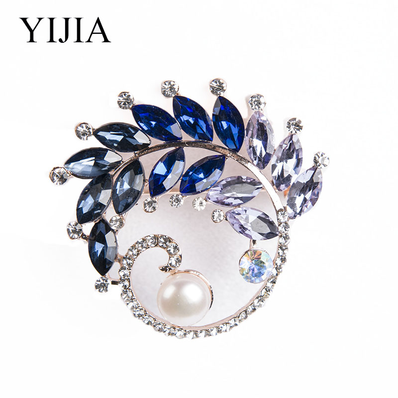 YIJIA Pealr Silver Brooch 925 Pearl Figure Women's Brooch Fashion Jewelry For Party Wedding Gift Women's Brooch Brooch-female
