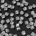 Refaxi REFAXI Wholesale 3mm 200 unids Encanto Cristalino Claro de Los Rhinestones Vestido de coser Craft Hacer Nuevos