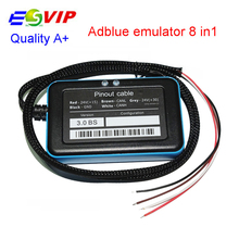 10pcs/ DHL freeQuality Support euro 6 New Adblue 8in1 New Arrival 8 in 1 AdBlue Emulator V3.0 with NOx sensor Adblue 8 in 1