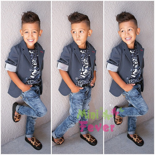 Children Boy Clothing Sets Handsome Child Boys Clothes 3: Freeshipping! 2015 Boys Autumn Leopard Clothing Set Kids