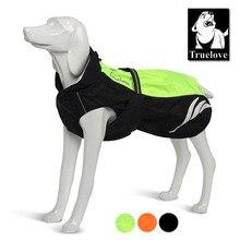 Truelove vêtements imperméables jaunes pour chiens