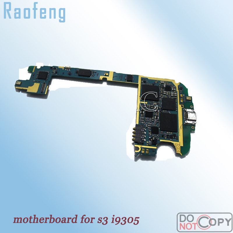 Raofeng Motherboard for i9305  Unlocked for Samsung galaxy S3 motherboard   EU version mainboard with full chips Logic Board(China)