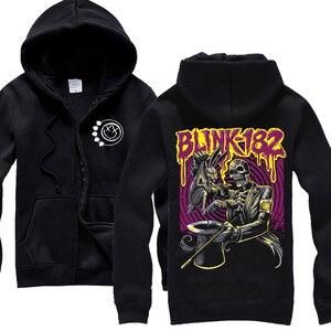 Image 2 - 13 projekt blink 182 bluza Cute Rabbit ilustracja odzież bluzy punk heavy metal Rock sudadera dres deskorolka