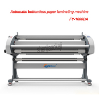 1.6M laminating width Automatic paper laminating machine Auto Electricity Cold Laminator Laminating Film Machinery 220V/110V