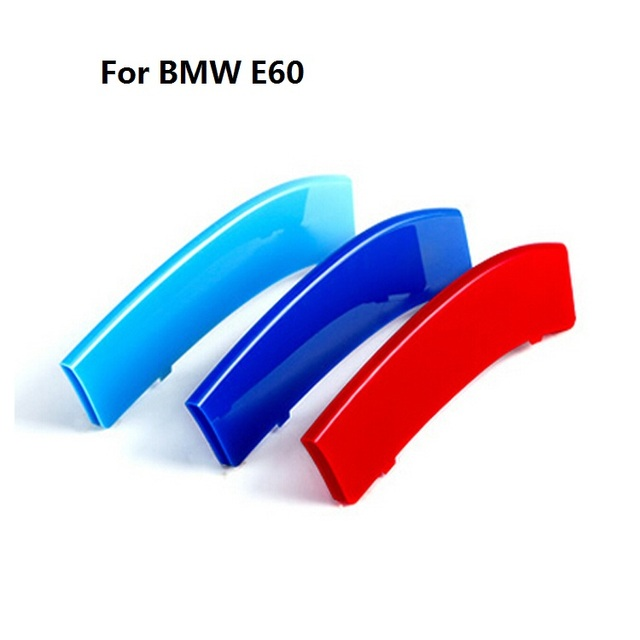 3D M Grill  Styling Stripes for 2004-2010 5 Series E60