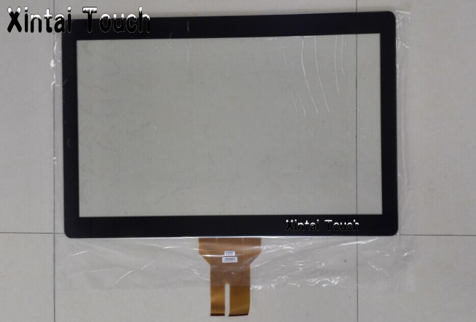 Fast Shipping! 27 inch capacitive touch screen 27 10 points projected capacitive multi touch panel overlays for LCD monitor 2711p t10c6a2 touch panel for allen bradley 2711p t10 repair replacement plus 1000 touch screen all versions fast shipping