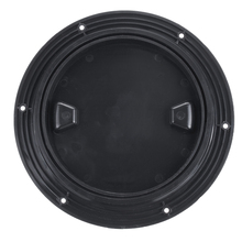 Plastic Twist Out Marine Boat Caravan Deck Compartment Access ABS Anti-ultraviolet Hatch Plate Black 4/6/8 inch Reinforced Lid