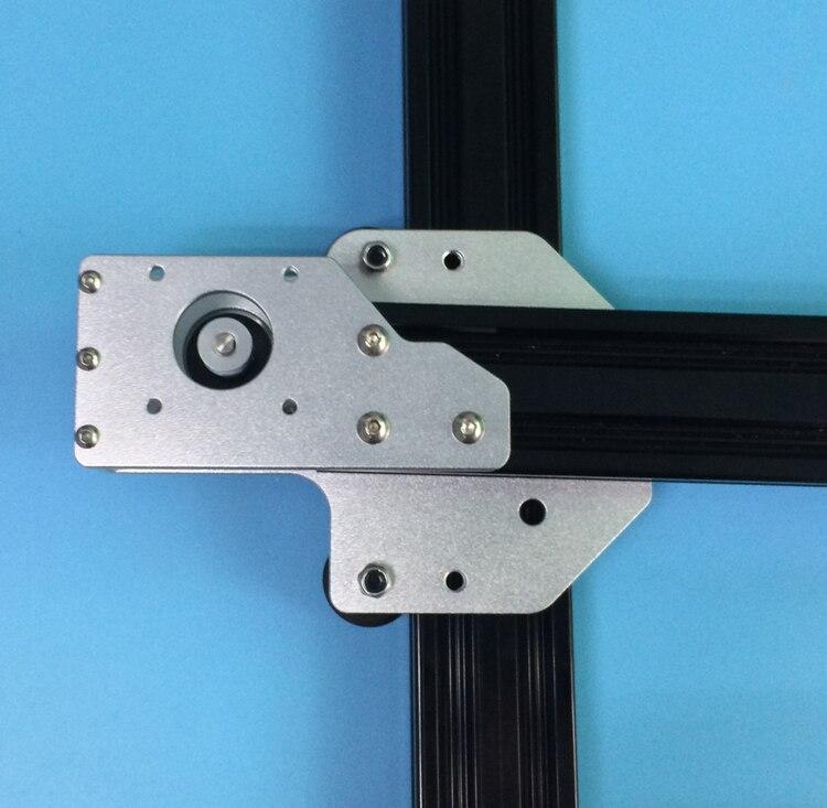 1 set Tronxy 3D imprimante mise à niveau en aluminium X axe moteur montage 2040 v-slot pour Tronxy 3D imprimante