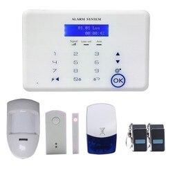 Gsm pstn 433/868 mhz systemu alarmów dla bezpieczeństwa w domu