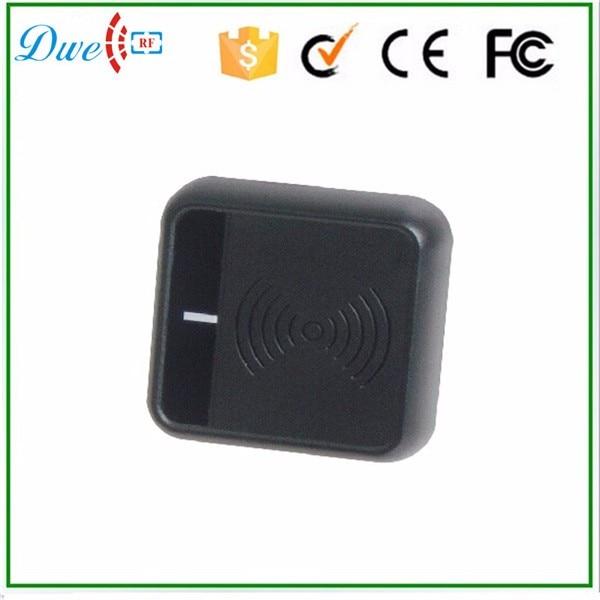 DWE CC RF Access Control Card Reader 13.56mhz Proximity Card Reader WG26 Waterproof  New