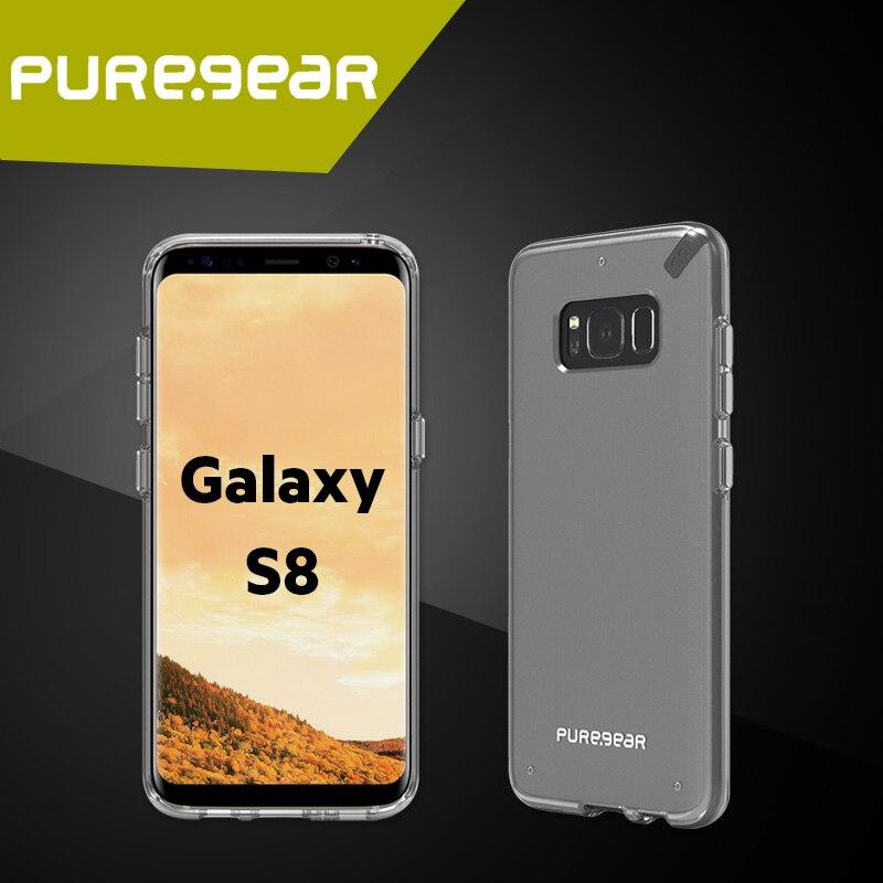 """imágenes para Puregear Original Delgado Shell Antichoque Caso Claro Transparente para Samsung Galaxy S8/S8 + 5.8 """"/6.2"""" con El Paquete 61745PG 61746PG"""