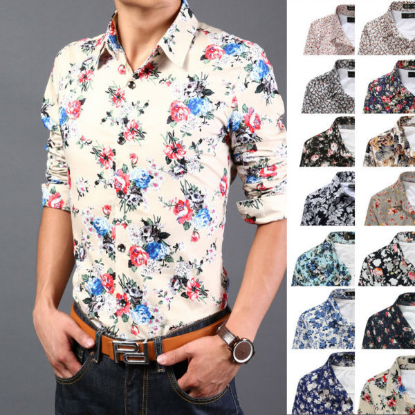 favorable price special buy enjoy free shipping cheapest floral dress shirt men 6d47f 2fbfd