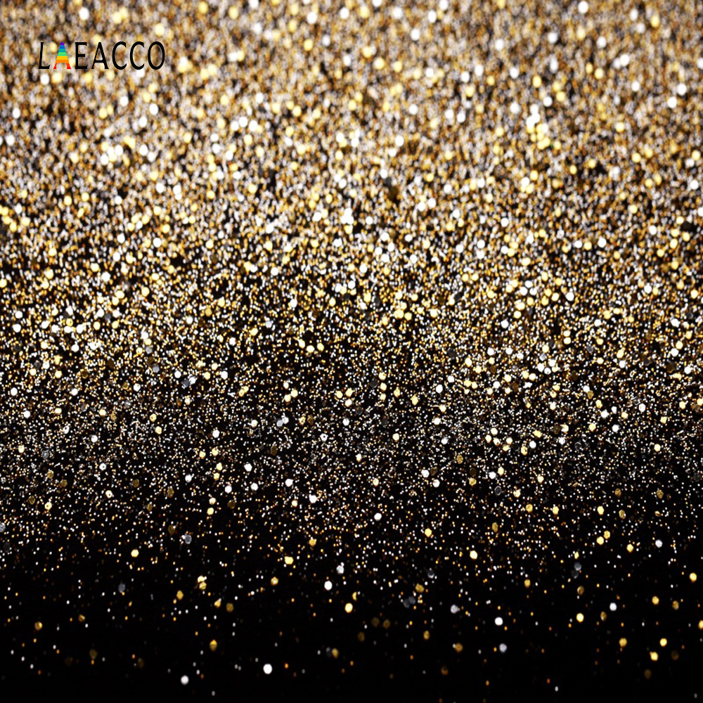 Laeacco Glitters Light Bokeh Portrait Photography Backgrounds Customized Photographic Backdrops For Photo Studio(China)