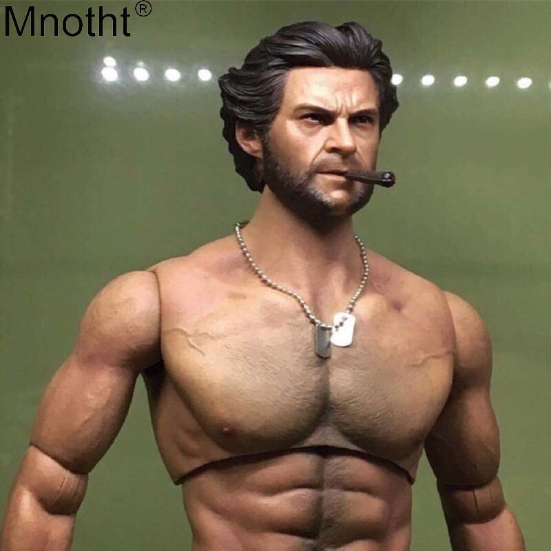 Mnotht Wolverine Head Carving Model 1:6 Tert of Wolves Rogan Youth Edition Male Soldier Toy Accessory for 12in Action Figure maMnotht Wolverine Head Carving Model 1:6 Tert of Wolves Rogan Youth Edition Male Soldier Toy Accessory for 12in Action Figure ma