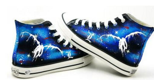 Death Note Canvas Shoes