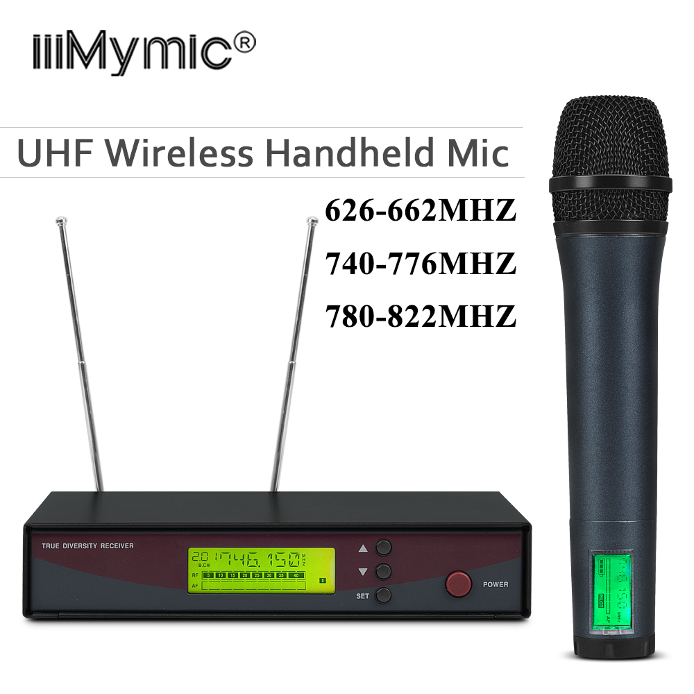 Free Shipping Professional 135 G2 UHF Wireless Microphone Single Handheld Wireless Mic System For Vocals Speech