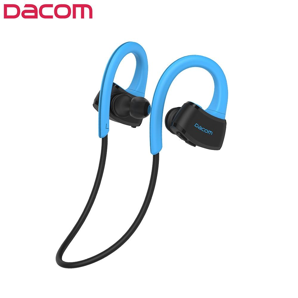 DACOM Built-in MP3 Wireless Headphone Sports Bluetooth Headset IPX7 Stereo Wireless Bluetooth Earphone for Samsung iPhone Xiaomi langtek bluetooth earphone headphone microphone stereo wireless sports headset bluetooth 4 1 for iphone samsung xiaomi htc