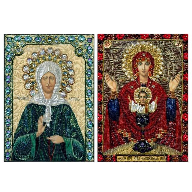 Icone Religieuse diy diamant peinture croix stich icône religieuse les chiffres de la