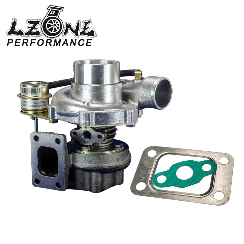 LZONE - GT28 GT2870 GT2871 compressor housing AR 60 turbine a/r .64 T25 flange 5 bolt with actuator Turbocharger turbo kinugawa gtx ball bearing turbocharger 3 anti surge gtx2860r ar 64 t25 5 bolt internal page 9