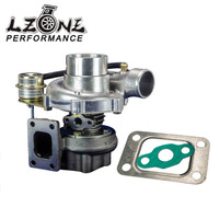 LZONE GT28 GT2870 GT2871 compressor housing AR 60 turbine a/r .64 T25 flange 5 bolt with actuator Turbocharger turbo