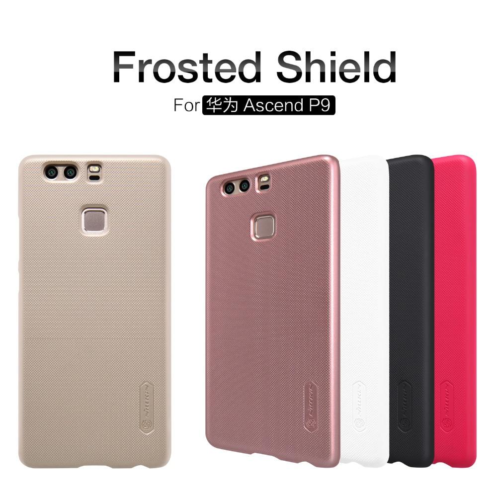 ᐃNillkin para Huawei asacend P9 funda de escudo helado para Huawei ...
