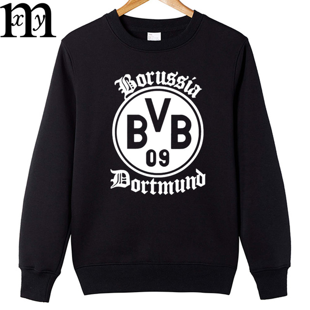 New Borussia Dortmund BVB Men Foot ball So ccer Men's Long Sleeve  Autumn Winter Sweatshirt Pullover Hoodies