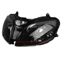 Прозрачные линзы мотоцикл Пластик передний свет лампы для Kawasaki Ninja ZX6R 2000 2001 2002 Корпус фар комплект