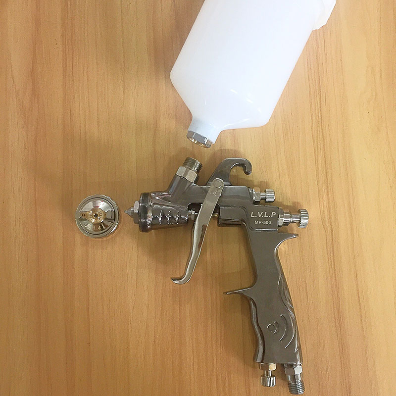How To Paint With A Lvlp Spray Gun