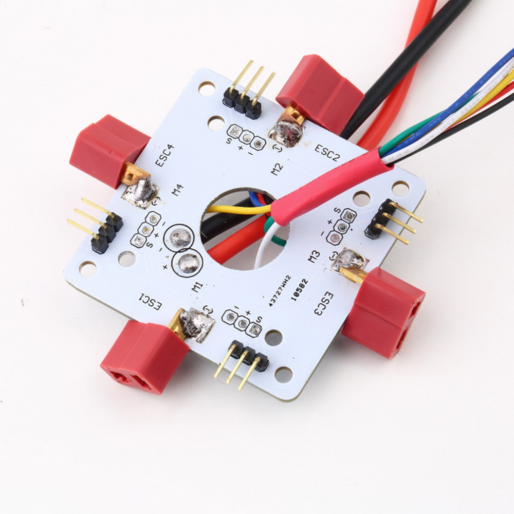 CUAV Apm px4 shaft power supply distribution board esc connecting plate power distribution board T-head