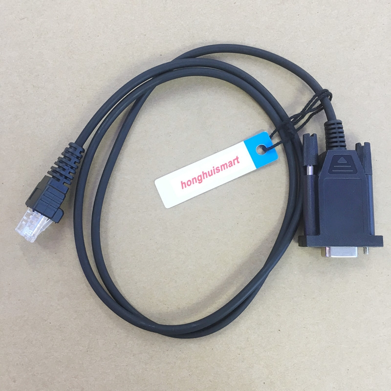 honghuismart Programming cable 8 pins for <font><b>motorola</b></font> <font><b>GM300</b></font>,GM950,GM338,GM3188,GM3688 etc car radios Com <font><b>connector</b></font> image