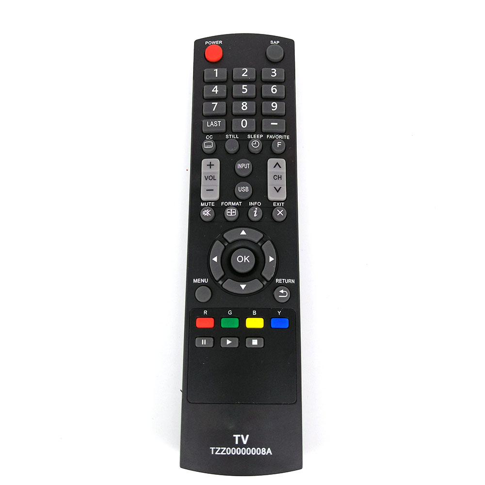 New Replace Remote Control Tzz00000008a For Panasonic Tv