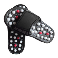 Shoe Sandal Reflex Massage Slippers Acupuncture Foot Healthy Massager Shoe Rotating Gossip Dot Prickly