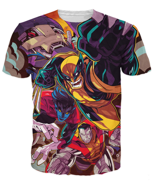 Amigos De La Manera T Shirt Edwin Huang Coloso X Men Nightcrawler