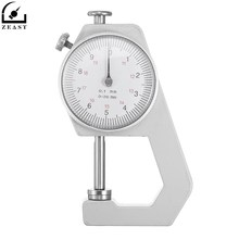 Thickness Dial Gauge 0-20mm Leather Thickness Metal Tester Measure Leathercraft Tool Craft
