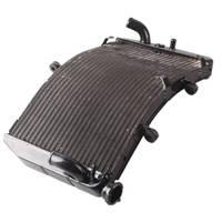 Для Honda CBR600 F4i 2001 2002 2003 2004 2005 2006 черный Алюминий мотоцикл кулер охлаждение радиатора