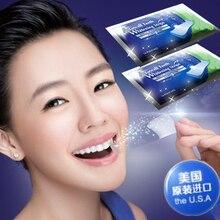 Пачек профессиональное полоски гигиены зубной полости зубов отбеливание рта продукты двойной