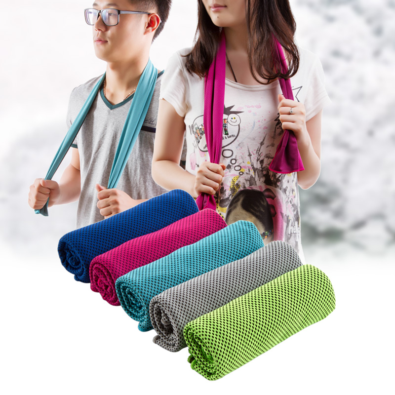 Towel To Wipe Sweat: Extended Cold Sensation Cool Towel Sport Towel, Treadmill