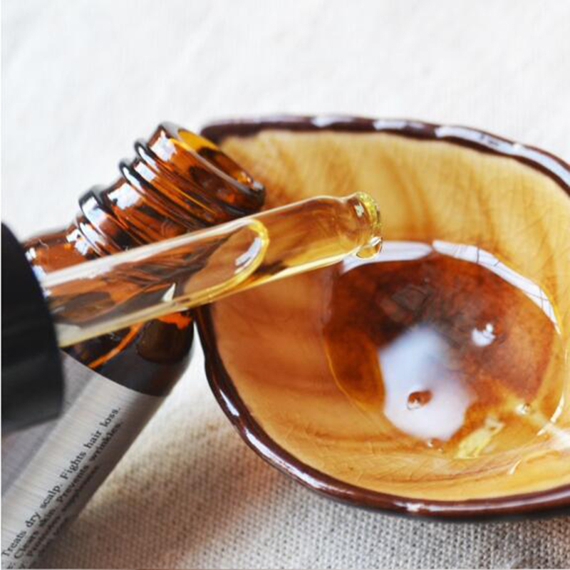 PURC Argan Oil Agan Hair Oil 10 ml does not hurt the scalp deep repair hair care