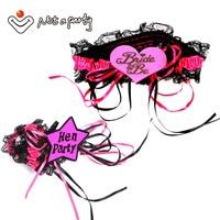 12 pcs de casamento evento ligas 2 projetos para escolher para bachelorette party fita bowtie partido artesanato decorativo casamento