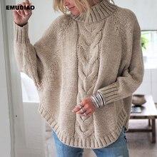 Водолазка свитер женский свободный вязаный пуловер джемпер женщина зима 2019 осень уличная одежда