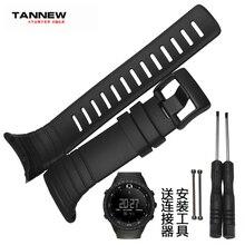 Watch accessories,high quality silicone strap black rubber strap applicable SUUNTO CORE series все цены