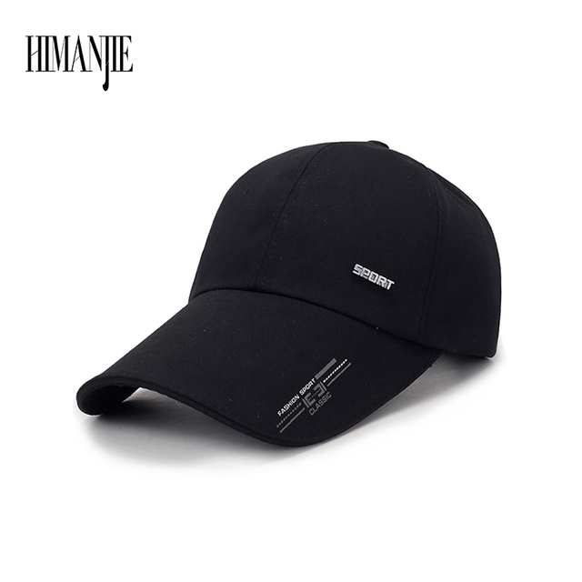newest a62f6 4026f 1Piece Baseball Cap Men s Adjustable Cap Casual leisure hats Solid Color  Fashion Snapback Summer for Women