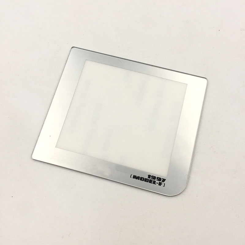 Silver For GBP Screen Lens Cover For Game Boy Pocket Famitsu 1997 Edition