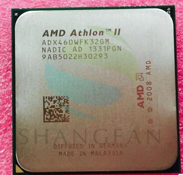AMD Athlon II X3 460 3.4GHz Triple-Core CPU Processor ADX460WFK32GM Socket AM3 938PIN