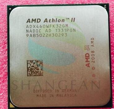 AMD Athlon II X3 460 3.4 GHz Triple-Core Processador CPU Soquete ADX460WFK32GM AM3 938PIN