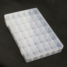 Dismountable Storage Box Case Holder Container for Pills Jewelry Nail Art Tips 36 Grids Organizer for Raspberry Pi for Arduino