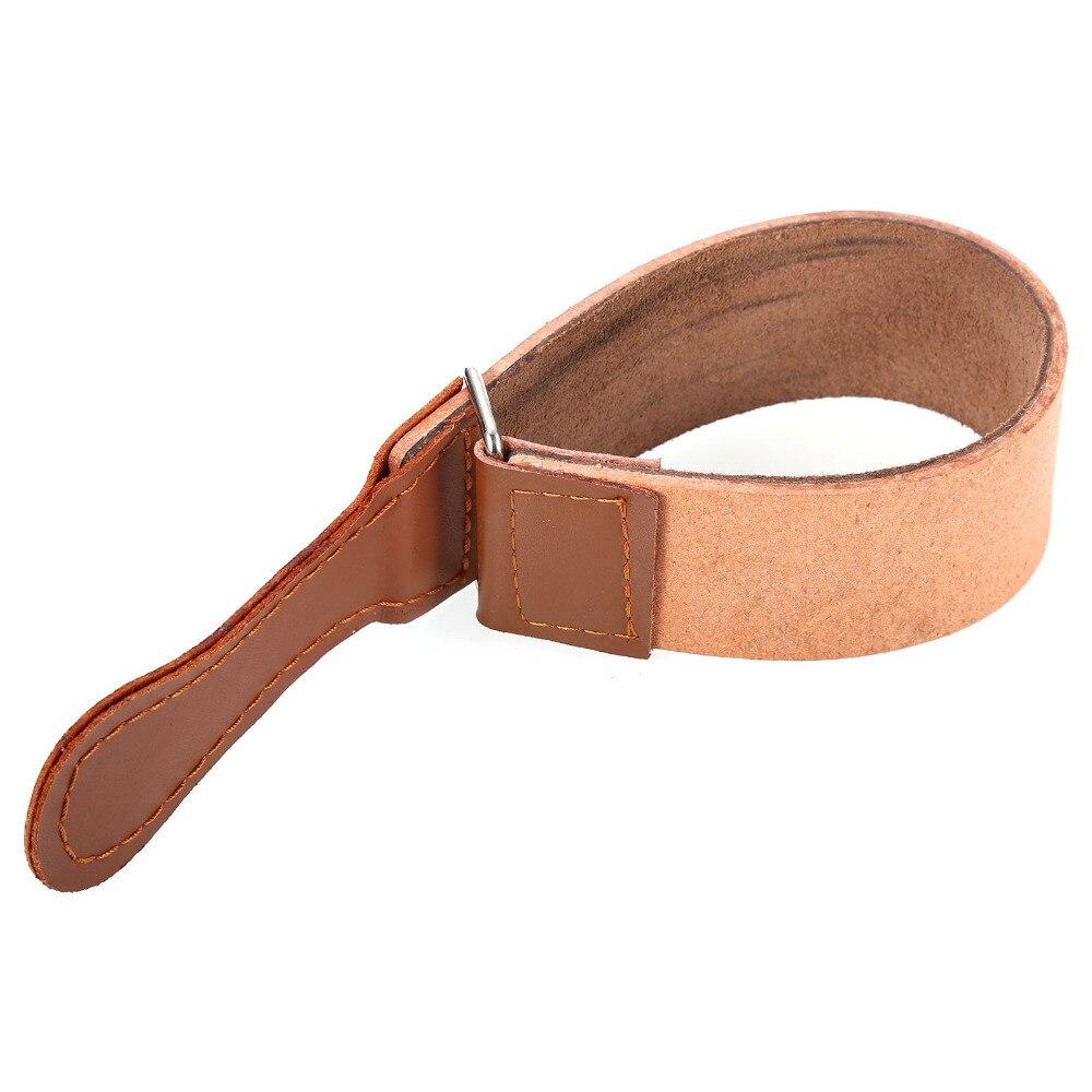 Pro Barber Shaving Genuine Leather Strop Straight Razor Sharpener Strap Necessary Tool 45cm Top Quality NEW