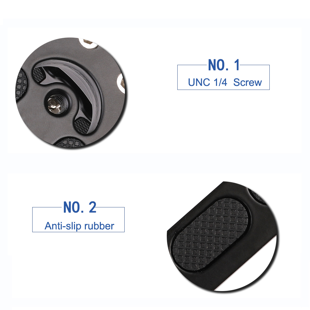 Image 4 - Kaliou Photo Studio Accessories Hand Grip Support Quick Release Plate L Grip L Plate Bracket for Camfi Camera-in Photo Studio Accessories from Consumer Electronics