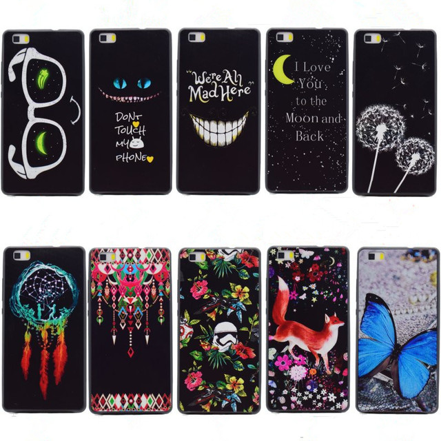coque silicone huawei l21